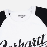 Carhartt WIP SS League Men's T-shirt White/Black photo- 2