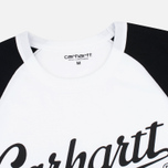 Мужская футболка Carhartt WIP SS League White/Black фото- 2