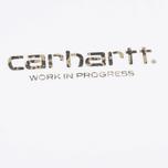 Мужская футболка Carhartt WIP SS Script White/Camo Stain Green фото- 1