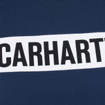 Мужская футболка Carhartt WIP SS Shore Blue/White/Black фото- 1