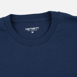 Мужская футболка Carhartt WIP SS Shore Blue/White/Black фото- 2