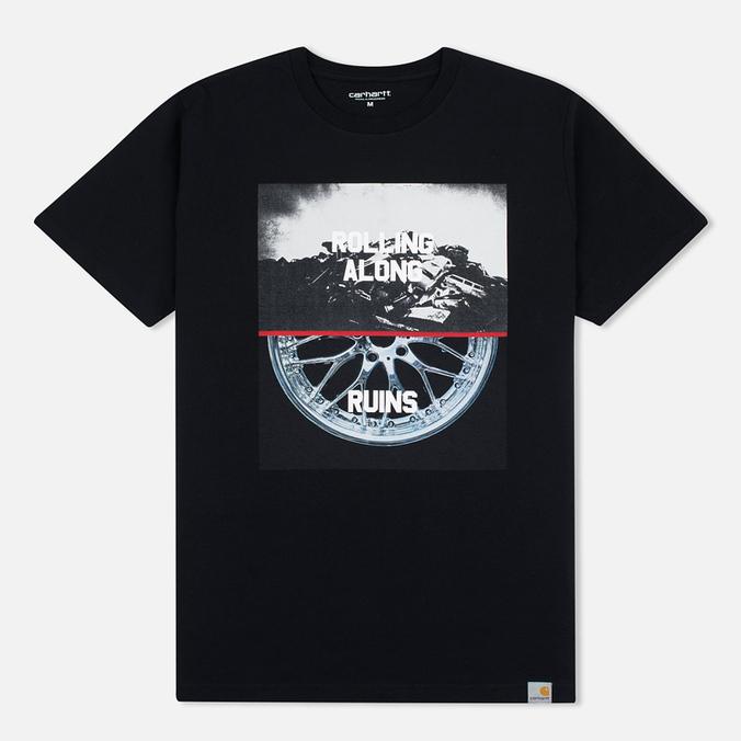 Мужская футболка Carhartt WIP SS Wreckshop Black/Multicolour