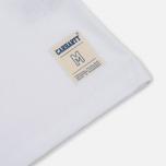 Мужская футболка Carhartt WIP Strike White/Black фото- 3
