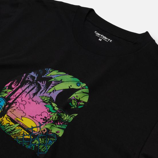 Мужская футболка Carhartt WIP Sunset C Black