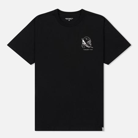 Мужская футболка Carhartt WIP Trust No One Black/White Rished