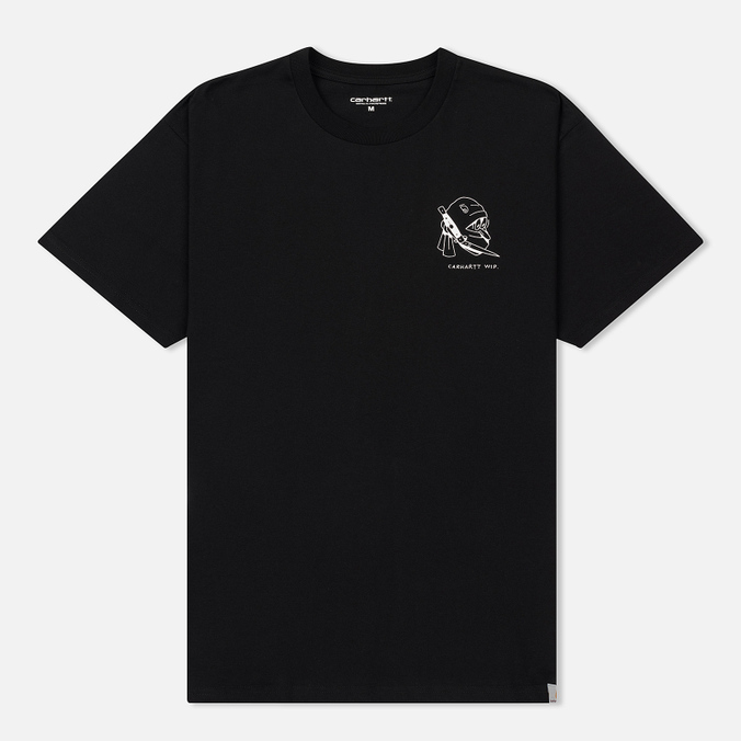 Мужская футболка Carhartt WIP Trust No One Black/White Rished