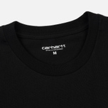 Мужская футболка Carhartt WIP Trust No One Black/White Rished фото- 1