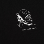 Мужская футболка Carhartt WIP Trust No One Black/White Rished фото- 2