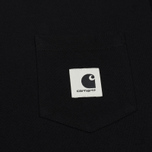 Женская футболка Carhartt WIP W' Carrie Pocket Black/Ash Heather фото- 2