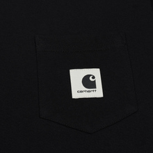 Женская футболка Carhartt WIP W' Carrie Pocket Black/Ash Heather фото- 2