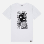 Мужская футболка Carhartt WIP Wall C White/Black фото- 0