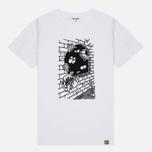 Carhartt WIP Wall C Men's T-shirt White/Black photo- 0