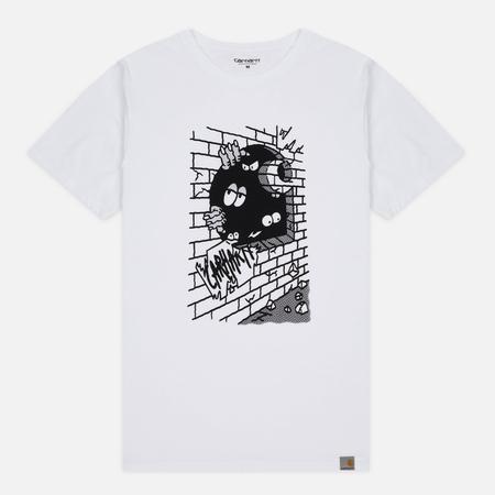 Мужская футболка Carhartt WIP Wall C White/Black