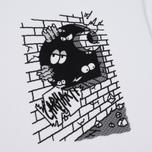 Carhartt WIP Wall C Men's T-shirt White/Black photo- 3