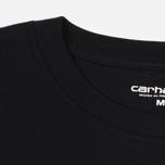 Мужская футболка Carhartt WIP Wip Script Black/White фото- 1