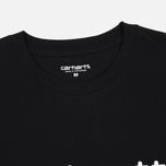 Мужская футболка Carhartt WIP Wip Script Black/White фото- 2