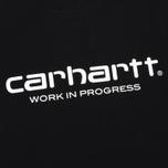 Мужская футболка Carhartt WIP Wip Script Black/White фото- 3