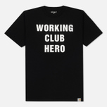 Мужская футболка Carhartt WIP Working Club Black/White фото- 0