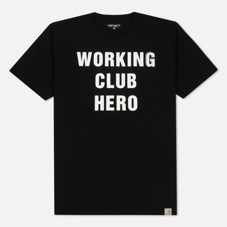 Мужская футболка Carhartt WIP Working Club Black/White