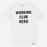 Мужская футболка Carhartt WIP Working Club White/Black фото- 0