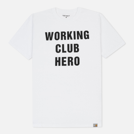 Мужская футболка Carhartt WIP Working Club White/Black