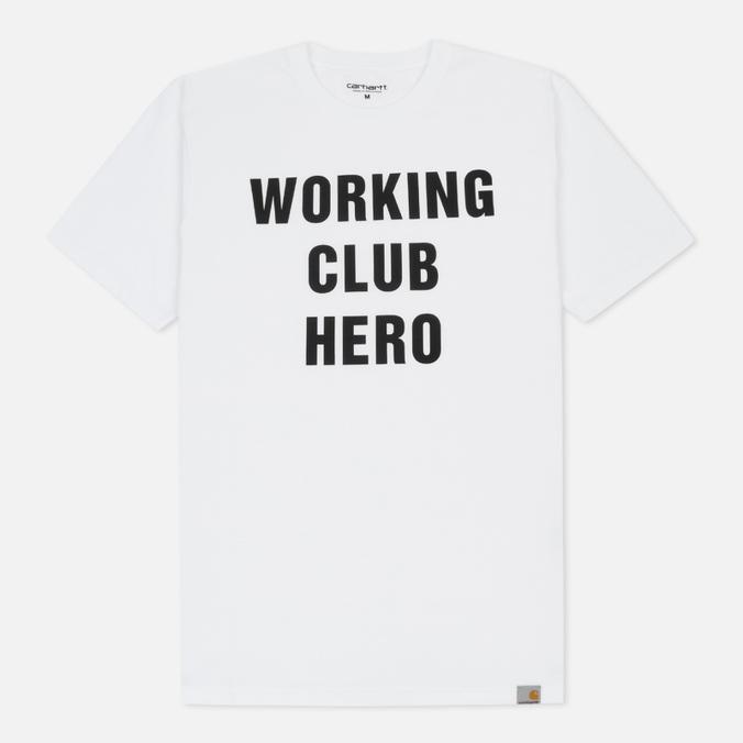 Мужская футболка Carhartt WIP Working Club White/Black