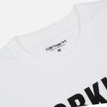 Мужская футболка Carhartt WIP Working Club White/Black фото- 1