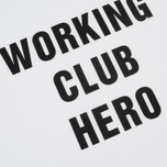 Мужская футболка Carhartt WIP Working Club White/Black фото- 2