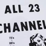Мужская футболка Carhartt WIP x P.A.M. Radio Club All Channels White фото- 4