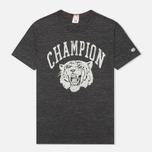 Champion Reverse Weave Ivy League Men's T-shirt Grey Melange photo- 0