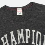 Champion Reverse Weave Ivy League Men's T-shirt Grey Melange photo- 1