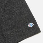 Champion Reverse Weave Ivy League Men's T-shirt Grey Melange photo- 4