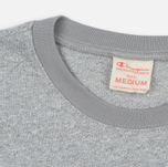 Champion Reverse Weave 2 Tone Ringer Men's T-Shirt Marl Grey photo- 1