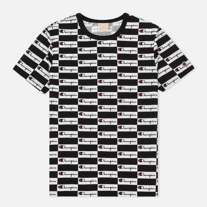 Мужская футболка Champion Reverse Weave All Over Print Champion Black