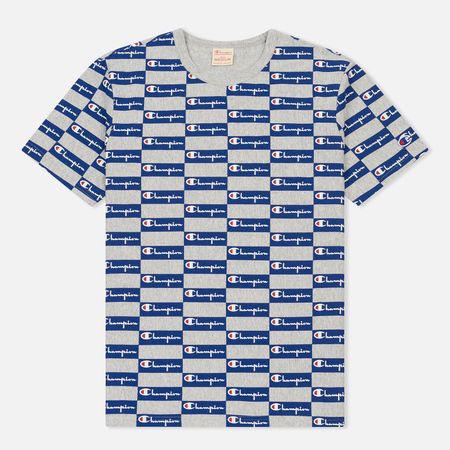 Мужская футболка Champion Reverse Weave All Over Print Champion Grey