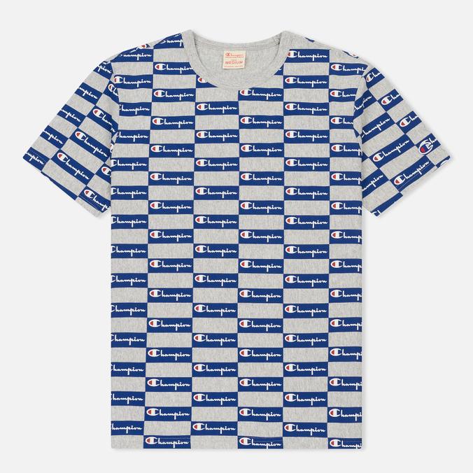 Мужская футболка Champion Reverse Weave All Over Print Champion Grey