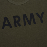 Champion Reverse Weave Army Men's T-Shirt Olive photo- 3