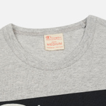 Мужская футболка Champion Reverse Weave Ath Wear & Education Printed Grey фото- 1