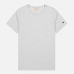 Мужская футболка Champion Reverse Weave Basic Crew Light Grey фото- 0