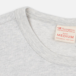Мужская футболка Champion Reverse Weave Basic Crew Light Grey фото- 2
