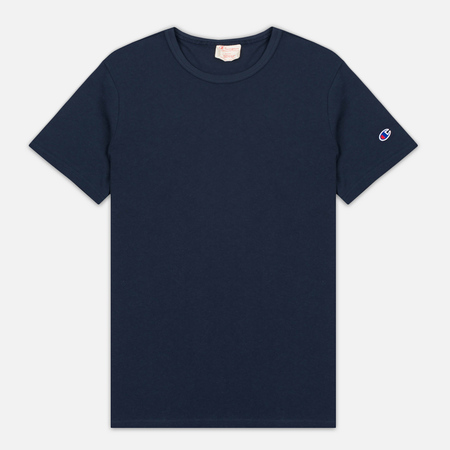 Мужская футболка Champion Reverse Weave Basic Crew Navy