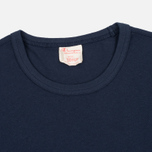 Мужская футболка Champion Reverse Weave Basic Crew Navy фото- 2