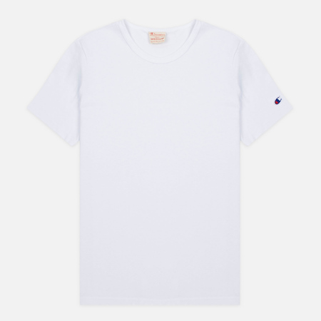Мужская футболка Champion Reverse Weave Basic Crew White