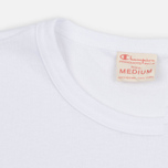 Мужская футболка Champion Reverse Weave Basic Crew White фото- 2