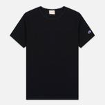 Champion Reverse Weave Basic Crew Men's T-Shirt Black photo- 0