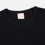 Champion Reverse Weave Basic Crew Men's T-Shirt Black photo- 2