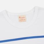 Мужская футболка Champion Reverse Weave Campus Collection 1975 Print White B фото- 1
