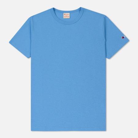 Мужская футболка Champion Reverse Weave Classic Crew Neck Premium Azure Blue