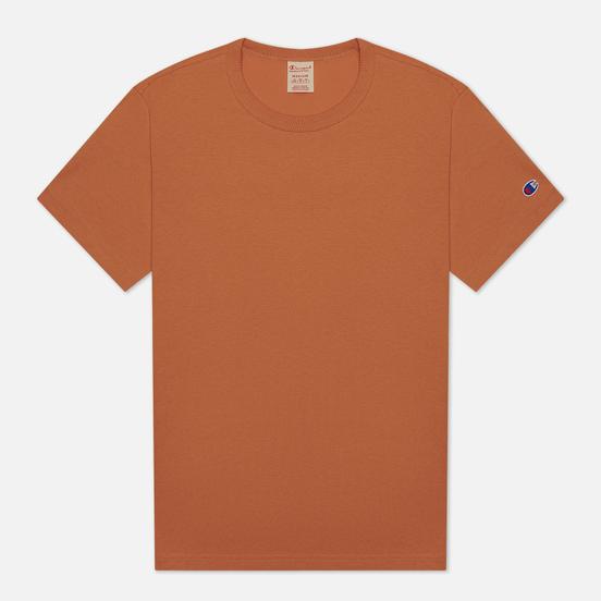 Мужская футболка Champion Reverse Weave Classic Crew Neck Premium Dark Orange