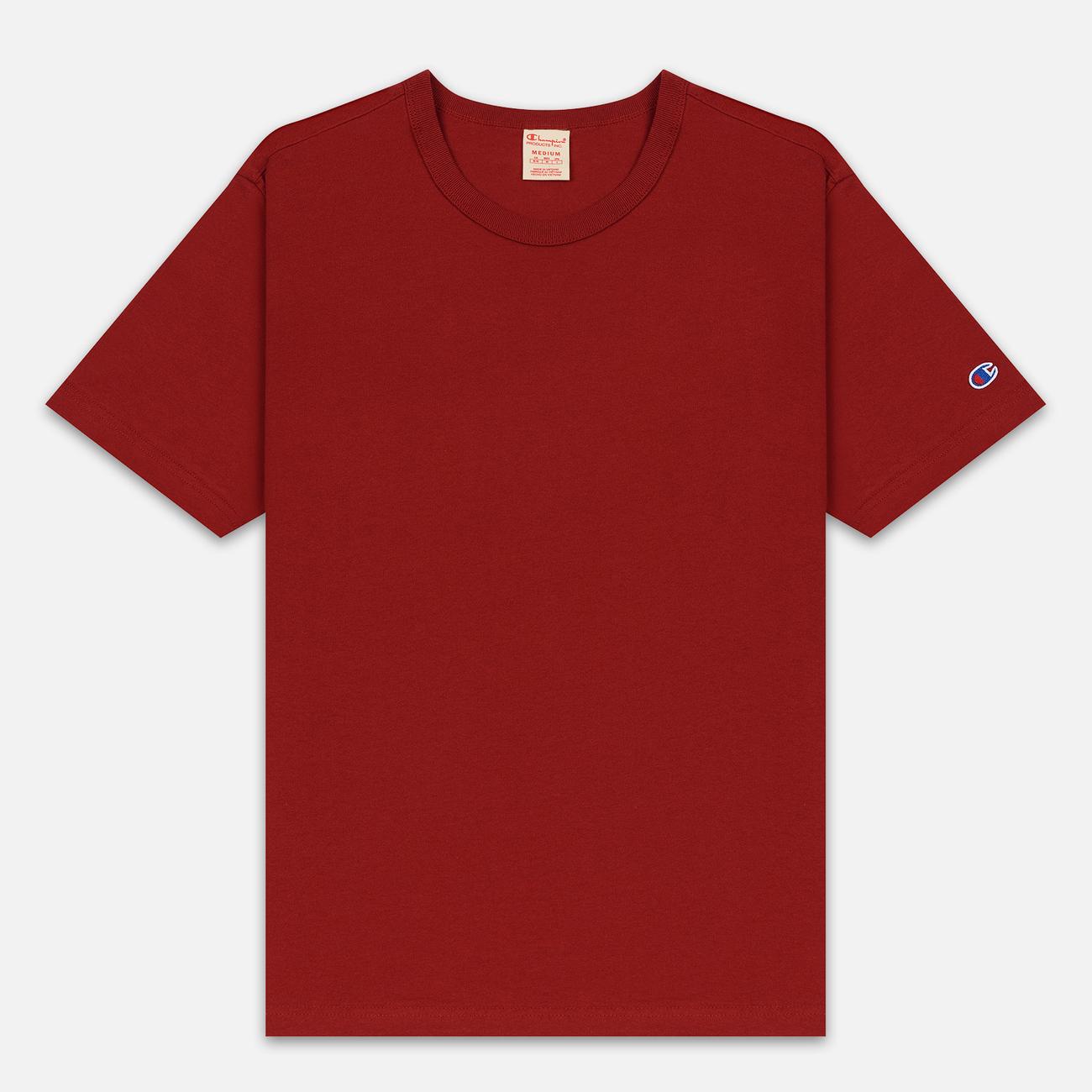 Мужская футболка Champion Reverse Weave Classic Crew Neck Premium Dark Red